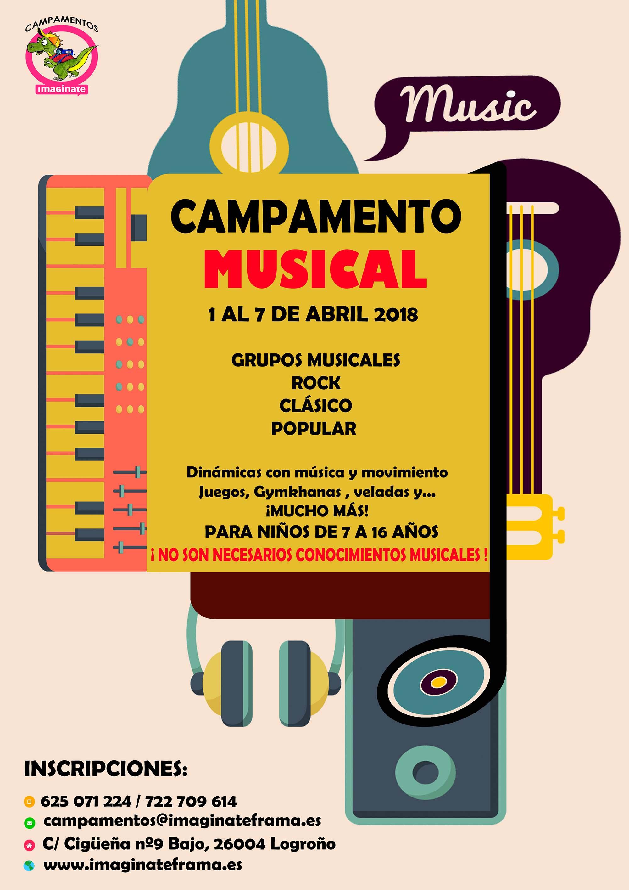 Campamento Musical Imagínate